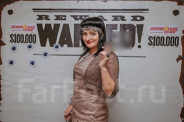 Ведущая Ирина Кондратенко. Декор президиума в подарок!