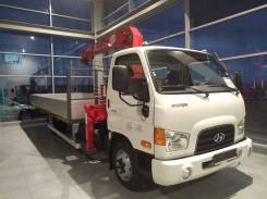 Hyundai HD78. с КМУ UNIC 374, 3 900куб. см., 3 000кг., 4x2