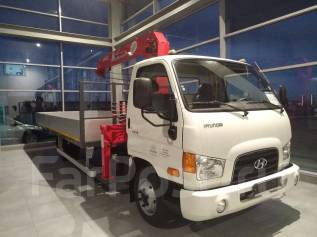 Hyundai HD78. с КМУ UNIC 374, 3 900 куб. см., 3 000 кг.