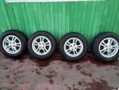 Продам шипованные шины нокиан хакапелита 7 на литых дисках 185/70 р14. x14 4x100.00 ET0