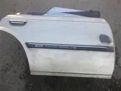 Дверь правая задняя стекло электроподъем в сбореToyota Carina ED ST160