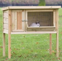 Клетки для кроликов деревянные