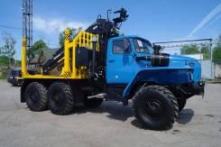 Урал 4320. сортиментовоз с гидроманипулятором, 11 150 куб. см., 15 000 кг.