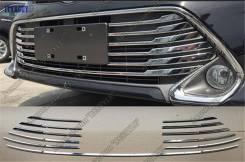 Накладка на решетку бампера. Toyota Camry, GSV50, ACV51, AVV50, ASV51, ASV50
