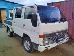 Toyota Hiace. Продам двухкабинный грузовик Toyota hiace 1995 года, 2 446 куб. см., 1 000 кг.