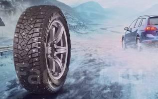 Bridgestone Blizzak Spike-02. Зимние, шипованные, 2016 год, без износа, 1 шт