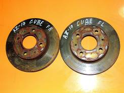 Диск тормозной. Nissan Cube, AZ10 Двигатель CGA3DE
