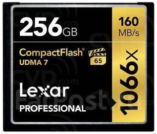 CompactFlash. 256 Гб, интерфейс Compact Flash