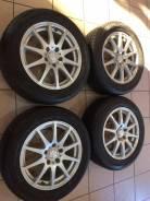 Комплект колес в отличном состоянии. 7.0x16 5x114.30 ET48 ЦО 73,1мм.