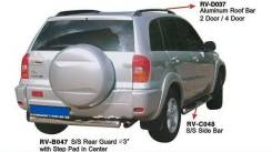Рейлинг. Toyota RAV4, ACA36W, ACA20, ZCA25W, ACA21W, ACA20W, ZCA26W, ACA31W Двигатели: 1AZFE, 1AZFSE. Под заказ