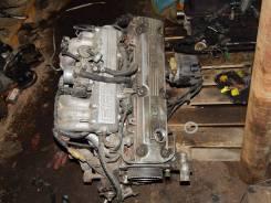 Двигатель в сборе. Toyota Cresta, GX71 Toyota Chaser, GX71 Двигатель 1GEU