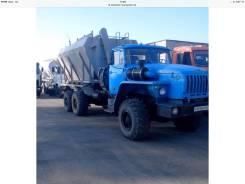 Урал 4320. Установка смесительная УС-50х14У на шасси, 11 150 куб. см., 21 780 кг.