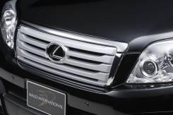 Решетка радиатора. Toyota Land Cruiser Prado, TRJ150W, TRJ150, GRJ151W, KDJ150L, GDJ150L, GDJ150W, GDJ151W, GRJ150W, GRJ150L, GRJ151, GRJ150. Под зака...