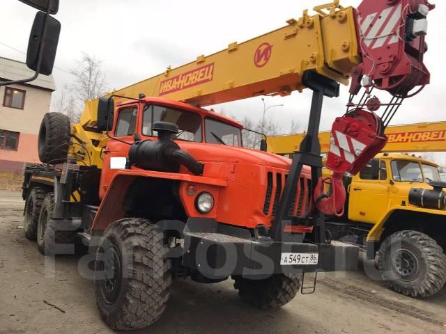 Ивановец КС-35714. УРАЛ КС-35714, 11 150 куб. см., 16 000 кг., 18 м.