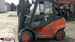 Linde. Вилочный погрузчик H40D, 2009г. в., 4 000кг., Дизельный