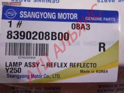 Отражатель в бампер SSANGYONG KYRON, D05, 8390208B00, 5160000009