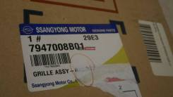 Решетка радиатора SSANGYONG REXTON, 7947008B01, 3460004124