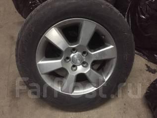 Продам колеса с летней резиной Toyota Harrier. 6.5x17 5x114.30 ET35