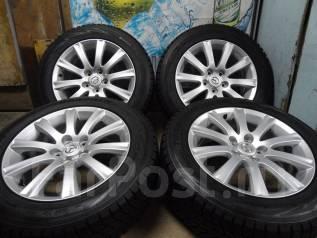 Продам Отличный комплект Стильных колёс Mazda MPV+Зима Жир 215/60R17. 7.0x17 5x114.30 ET45