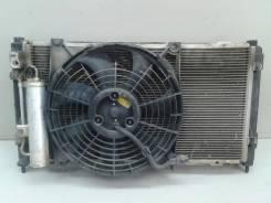 Радиатор охлаждения + радиатор кондиционера + вентилятор datsun / gr. Под заказ