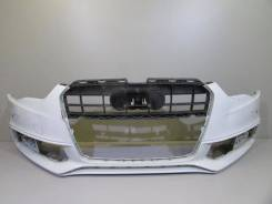 Бампер передний под омыф. фар и парктр audi a5 s5 coupe 11-1 б/у t00. Под заказ