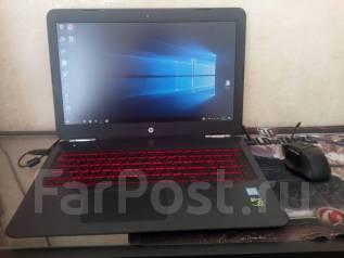 Игровой Ноутбук HP Omen 15ax203TX 15,6FHD/i7/8Gb/1T+ssd128/1050Ti(4Gb). 15.6дюймов (40см), 2,8ГГц, ОЗУ 8192 МБ и больше, диск 1 128 Гб, WiFi, Bluet...