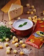 Суп сырный.
