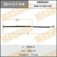 Шланг тормозной. Nissan: Bluebird, Maxima, Stanza, Primera, Avenir Двигатели: CA16S, CA18D, CA18DT, CA18I, CD20, GA16DS, KA24DE, LD20, SR18DE, SR18DI...
