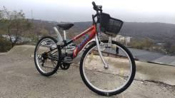 """Велосипед подростковый 55, из Японии! 6 скоростей, колеса 24""""."""