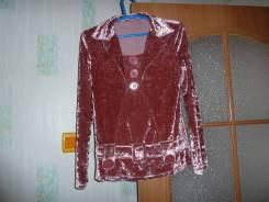 Отдам бесплатно бархатную блузку р.46