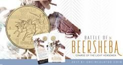* Австралия 1 доллар 2017 Battle of the Beersheba * Война * Лошадь