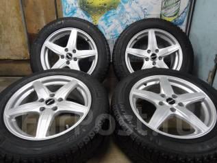 Продам Отличные Стильные колёса Sibilla TZ+Зима Жир 215/60R17. 7.0x17 5x114.30 ET48