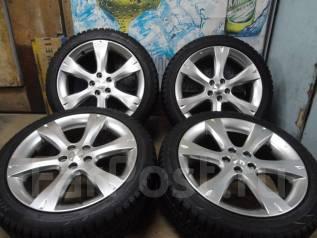 Продам Стильные под Чёр. Хром колёса Subaru Legacy+Зима Жир 215/45R17. 7.0x17 5x100.00 ET55