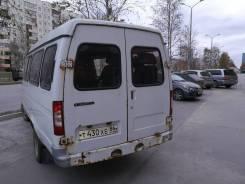 ГАЗ Газель Микроавтобус. Микроавтобус Газель, 2 800 куб. см., 7 мест