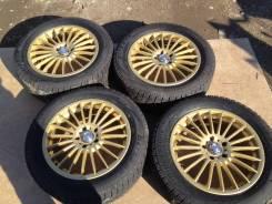 Продам комплект зимних колес. 7.0x17 5x114.30 ET32