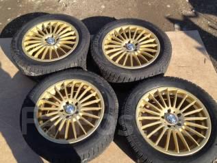 """Комплект зимних колёс 215/55R17 Bridgestone. 7.0x17"""" 5x114.30 ET32"""