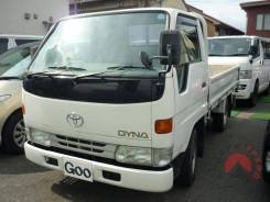 Toyota Dyna. бензиновый, бортовой, длинный борт, 2 000куб. см., 1 000кг. Под заказ