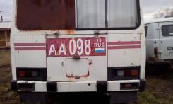 ПАЗ 3205. Автобус на полном ходу, оборудован для временного жилья, и перевозки у, 4 260 куб. см., 10 мест
