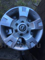 Nissan. 8.0x17, 6x139.70, ET10, ЦО 110,5мм.
