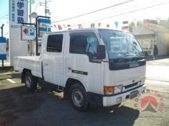 Nissan Atlas. бортовой, 2х кабинный, 4wd, дизель TD27, 2 700 куб. см., 1 250 кг. Под заказ