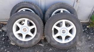 Продам колеса 205/65 R14 на литых дисках. 6.0x14 5x100.00, 5x114.30 ET38