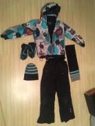 Шапка, шарф и перчатки. Рост: 140-146 см
