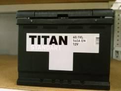 Titan. 60 А.ч., Обратная (левое), производство Россия