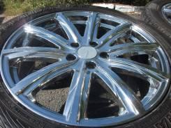 """Шикарные диски Anhelo Corazon в зиме Yokohama на Mazda CX5 и подобные. 8.0x19"""" 5x114.30 ET45 ЦО 72,0мм."""