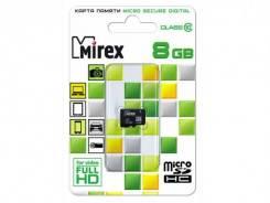 MicroSDHC. 8 Гб, интерфейс micro