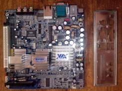 Материнская плата VIA EPIA TC6000E + память и флеш