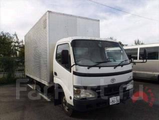 Toyota Dyna. будка. 4вд! Широкая кабина, аппарель, 4 000 куб. см., 3 000 кг. Под заказ