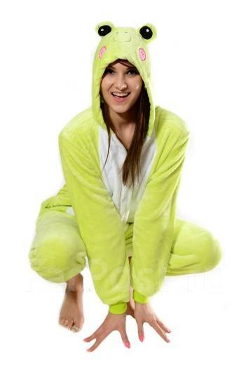 Пижама Кигуруми Лягушка - Одежда для дома и сна во Владивостоке 7d87e6b4d88da