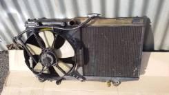 Радиатор охлаждения двигателя. Toyota Sprinter Carib, AE95G, AE95