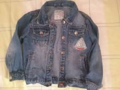 Куртки джинсовые. Рост: 104-110 см. Под заказ